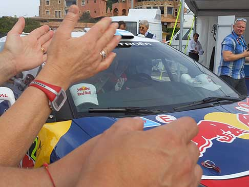 Rally WRC - Suggestivi momento dell´arrivo della Citroen racing di Hirvonen al Rally WRC in Sardegna. Foto by Automania