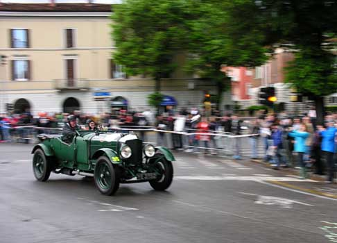 Bentley - Bentley 6 12 Litre All Weather a via alle Mille Miglia 2013