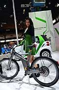 Smart ebike e hostess al Salone di Bologna 2012