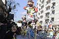 Carnevale di Putignano «I sette vizzi capitali». Carro allegorico The show must go on