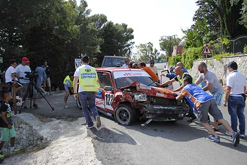 Coppa-Selva-Fasano Incidente