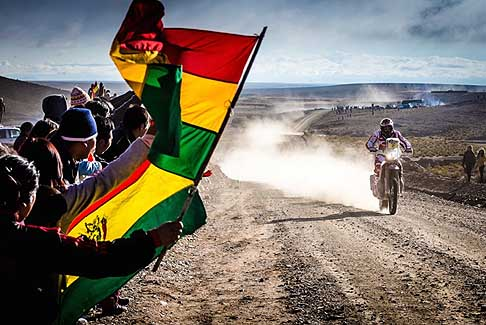 Dakar 2016 - Gara bike - 5° Stage