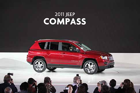 Jeep - Off-road Jeep Compass 2011
