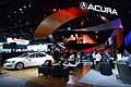 Stand Acura at the 2014 North American International Auto Show in Detroit