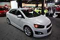 Chevrolet Sonic LTZ Turbo berlina al salone di Detroit 2013