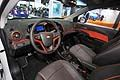 Chevrolet Sonic LTZ Turbo interni al salone di Detroit 2013