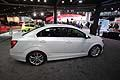 Chevrolet Sonic LTZ Turbo laterale al salone di Detroit 2013