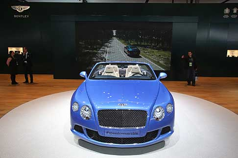 Bentley - Bentley Continental GT Speed Convertible ufficial debut at the Detroit Auto Show 2013