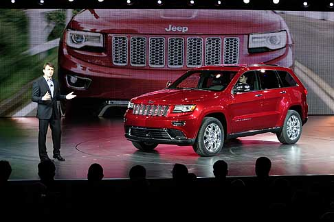Jeep - Nuova ammiraglia Jeep Grand Cherokee conferenza stampa
