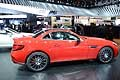 Mercedes-Benz SLC 43 red fiancata al Salone di Detroit 2016