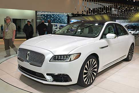 Detroit-Autoshow Lincoln