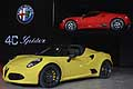 Alfa Romeo 4C Spider stile made in Italy al NAIAS di Detroit 2015