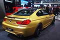 BMW M6 Coupe retrotreno al North American International Auto Show 2015 di Detroit