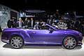 Bentley Continental GT Speed Convertible al Salone di Detroit 2015