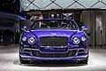 Bentley Continental GT Speed Convertible calandra al Detroit Auto Show 2015