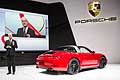 Matthias Muller Chairman of the Executive Board of Porsche presents the Porsche 911 Targa 4 GTS