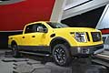 Nissan Titan XD pick up Pro4x at the NAIAS 2015 of Detroit