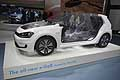Volkswagen e-Golf telaio al North American International Auto Show 2015 di Detroit