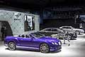 Panoramica stand Bentley al Salone di Detroit 2015