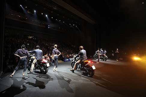 Ducati - Ducati 2015 world premiere press day Domenicali all´Eicma 2014 di Milano