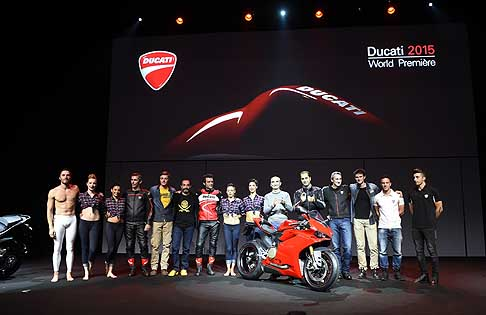 Ducati - Ducati 2015 world premiere Eicma 2014 press conference