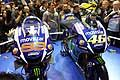 Moto GP del Team Yamaha all´Eicma 2015 di Milano