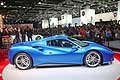 Ferrari 488 Spider supercar world premiere Francoforte 2015