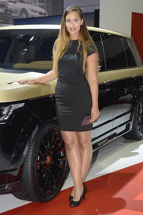 Francoforte-Motor-Show Hostess