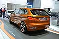 BMW Concept Active Tourer retrotreno al Salone di Francoforte 2013