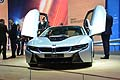 BMW i8 open doors at Frankfurt Motor Show 2013