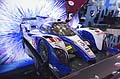 Toyota TS030 racing cars 24h di Le Mans at the Frankfurt Motor Show