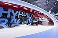 Toyota Hybrid Racing cars at the Frankfurt Motor Show
