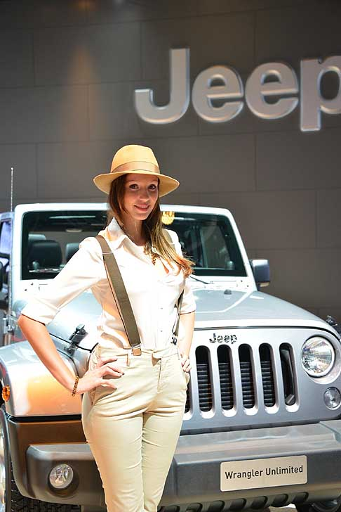 Frankfurt-Motor-Show Hostess