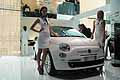 Fiat 500 by Gucci come testimonial Natasha Poly