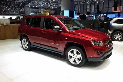 Jeep - jeep compass laterale