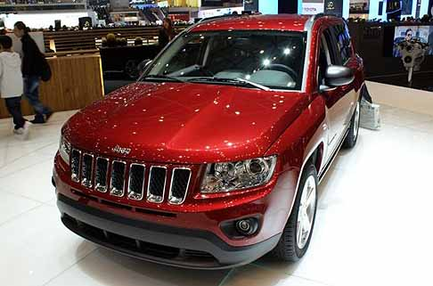 Jeep - jeep compass frontale