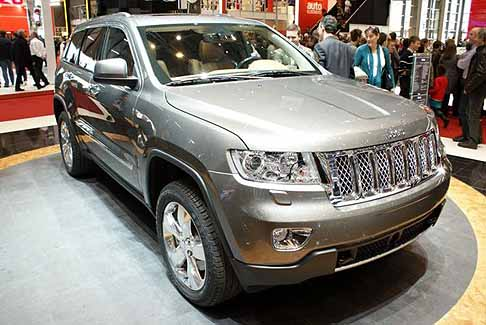 Jeep - jeep grand cherokee frontale