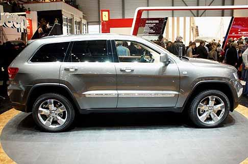 Jeep - jeep grand cherokee laterale