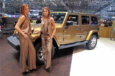 Jeep - jeep wrangler laterale