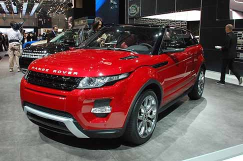 Land Rover - Range Rover Evoque anteriore red