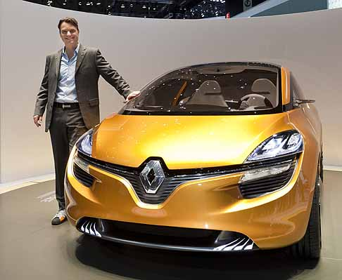 Renault - renault R-Space frontale Ginevra 2011