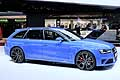 Audi RS4 laterale al Salone dell�Automobile di Ginevra 2014
