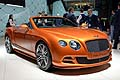 Bentley Continental GTC Speed luxury cars at the Geneva Motor Show 2014