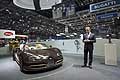 Bugatti Veyron Grand Sport Vitesse Rembrandt with Dr Wolfgang Schreiber al Motor Show di Ginevra 2014