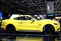 Ford Mustang GT laterale all'Auto Show di Ginevra 2014