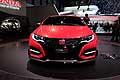 Honda Civic Type-R Concept car calandra al Salone dell´Automobile di Ginevra 2014