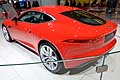 Jaguar F-TYPE Coupé red al Ginevra Motor Show 2014