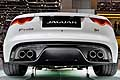 Jaguar F-TYPE R Coup� posteriore al Ginevra Motor Show 2014