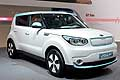 Kia Soul EV Electric Vehicle at the Geneva Motor Show 2014