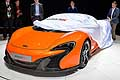 McLaren 650S Spider svelata media press day al Salone di Ginevra 2014